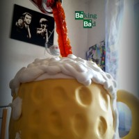 Bierkrug-Torte