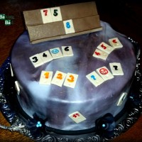 Rummy Cup-Torte