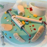 Arzthelferin-Torte