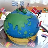 Weltkugel-Torte