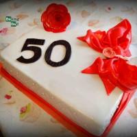 Geburtstagstorte zum 50.